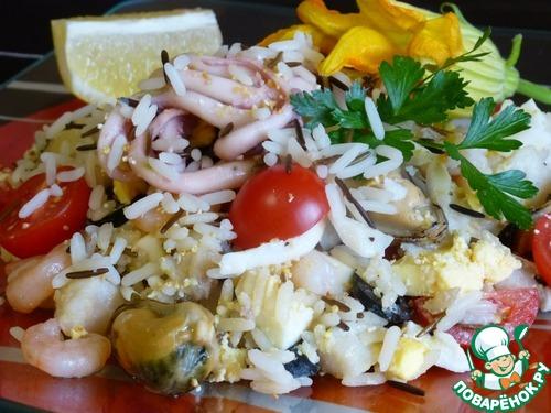 салат из морепродуктов рецепт поваренок ру с фото