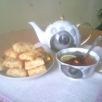 Слоеное сырное печенье Чистюля