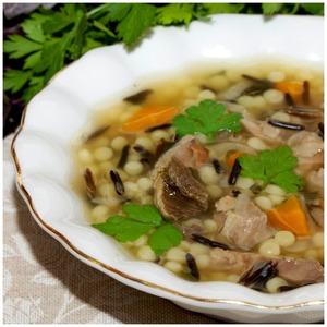 Рецепт Густой суп из дикого риса