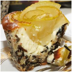 Рецепт Медовые яблочки в рисовой корзиночке