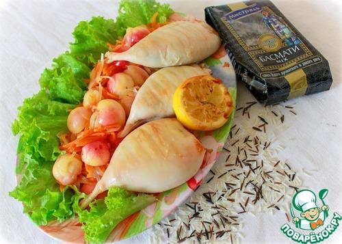 Острый кальмар рецепт пошагово