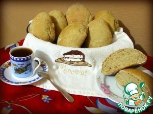 Рецепт Кофейные булочки с яблоком