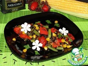 Рецепт Рагу с диким рисом и овощами