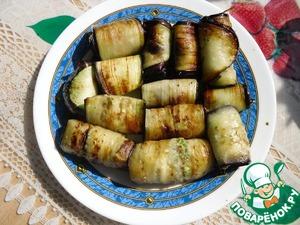 Рецепт Баклажаны с орехами и петрушкой