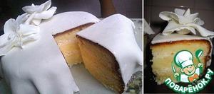 """Рецепт Торт """"Белые розы"""""""