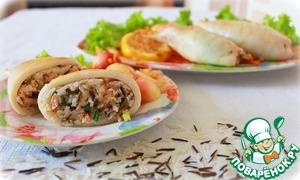Рецепт Кальмар Пикантный