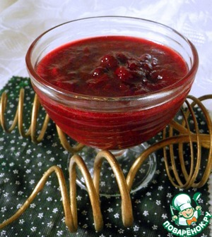 Рецепт Варенье из кизила с ягодами (без косточек)