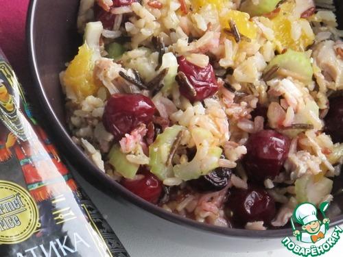 салат сельдерей с индейкой караваевы рецепт
