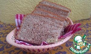 Рецепт Диетический отрубной хлеб