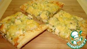 Рецепт Деревенская Пицца