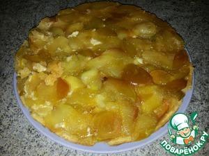 Рецепт Яблочный пирог-перевертыш