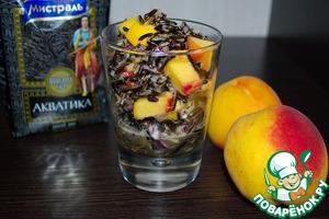 Рецепт Салат с диким рисом и персиком