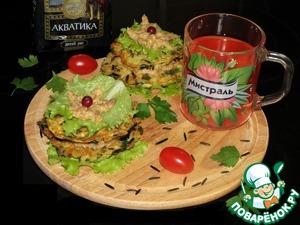"""Рецепт """"Дикие гамбургеры"""" с селедочным паштетом"""