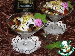 """Рецепт """"Дикий десерт"""" с сухофруктами и орехами"""