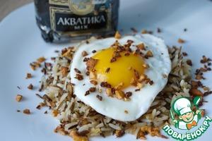Рецепт Жареный рис с хрустящим имбирем