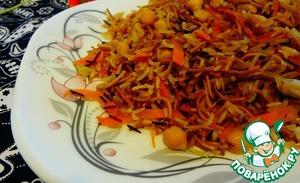 Рецепт Турецкий пилав с диким рисом