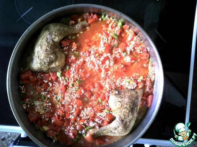 Приготовить рис духовке фото рецепт