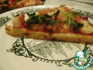 Рецепт Пицца из блинного теста