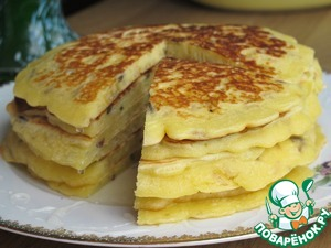 "Рецепт Блинчики с рисом ""Акватика"" на завтрак"