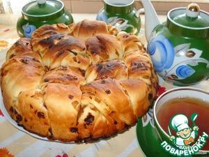 """Рецепт Постный пирог """"Луковник"""" на рисовом отваре"""