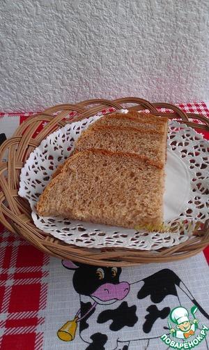 Рецепт Диетический хлеб с отрубями