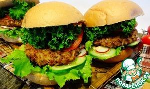 Рецепт Гамбургеры с диким рисом