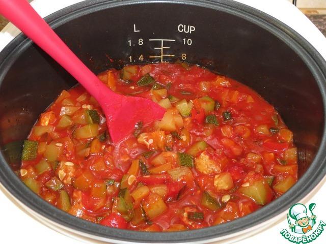Рецепты салата из перца с кабачками на зиму
