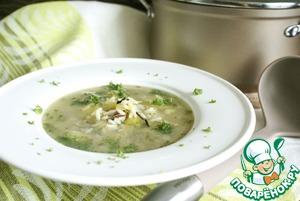 Рецепт Дикий рис в качестве ингредиента для супа