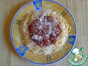 Рецепт Томатно-базиликовая сальса для спагетти