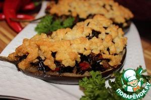 Рецепт Рисово-овощной крамбль