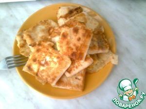 Рецепт Лаваш в яйце