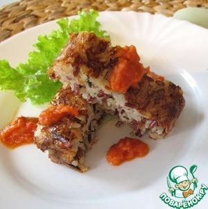 Рецепт Террин с диким рисом и томатным соусом