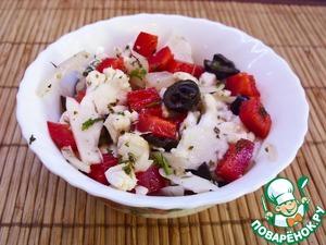 Рецепт Салат из маринованной цветной капусты