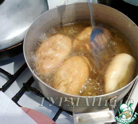 рецепт пирожков в духовке на воде рецепт