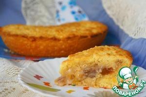 Рецепт Пирог с инжиром и финиками