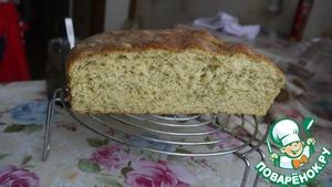 Рецепт Хлеб воздушный с зеленью