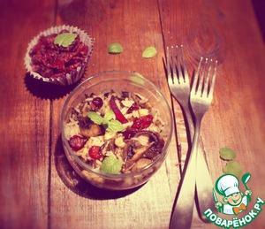 Рецепт Салат с диким рисом и клюквой