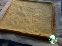 Рулет c малиной и сметанным кремом ингредиенты