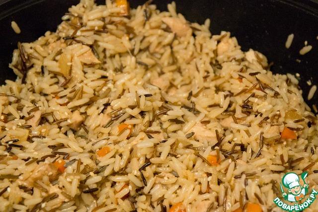 Острый рис с курицей рецепт