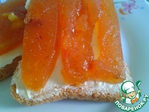 Рецепт Персиковый джем-мармелад