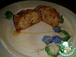 Рецепт Овсяный кекс с грушей