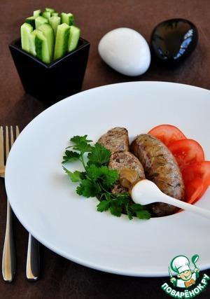 Рецепт Гурка-закарпатская колбаса