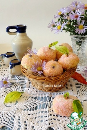 "Рецепт Печенье ""Яблочки детства"""