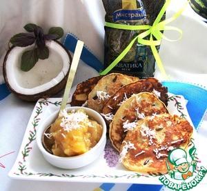 Рецепт Блинчики тайские на кокосовом молоке с диким рисом