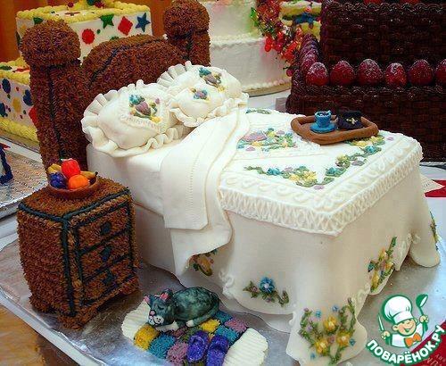 торты очень красивые фото