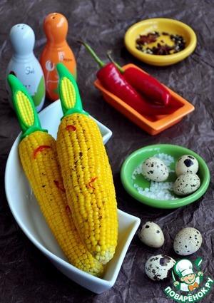Рецепт Кукуруза почти по-мексикански