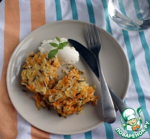 Рецепт Морковная запеканка с диким рисом