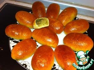 Рецепт Нежные пирожки с картофелем и грибами