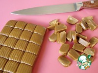 "Конфеты а-ля ""Toffee"" ингредиенты"