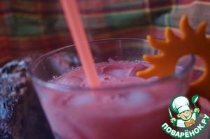 Рецепт Арбузный освежающий напиток